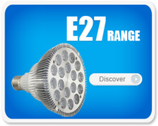 E27 LED Grow Light Range